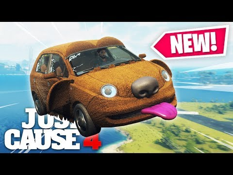 Just Cause 4 - NEW DOG CAR DESTRUCTION!
