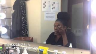 Makeup tutorial w/ Angela Brown
