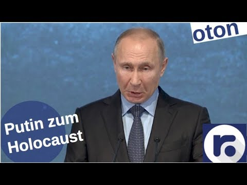 Putin zum Holocaust auf deutsch [Video]