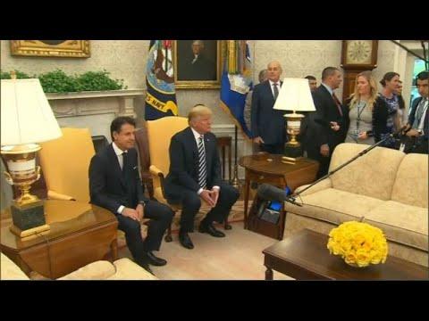 Τραμπ: «Υποσχέθηκε» βοήθεια στην Ιταλία για το χρέος της…