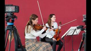 Beethoven's String Quartet No10 Interview with INGUZ-Quartet live 14/02/2021
