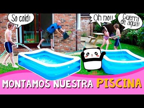PISCINA en CASA * Montamos una piscina INFLABLE en el JARDÍN