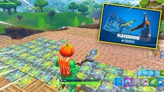 How To Play PLAYGROUND MODE RIGHT NOW On Fortnite! (Covering Dusty Divot Playground Gameplay)