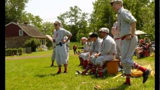 Bergen County Historical Society Vintage Baseball Game July 11, 2015