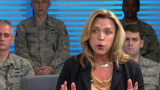 Secretary of the Air Force Deborah Lee James Open Door Dec. 8, 2015