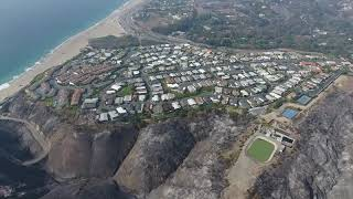MALIBU FIRE DAMAGE ASSESSMENT DRONE FOOTAGE