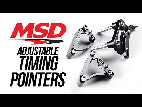 MSD Adjustable Timing Pointers