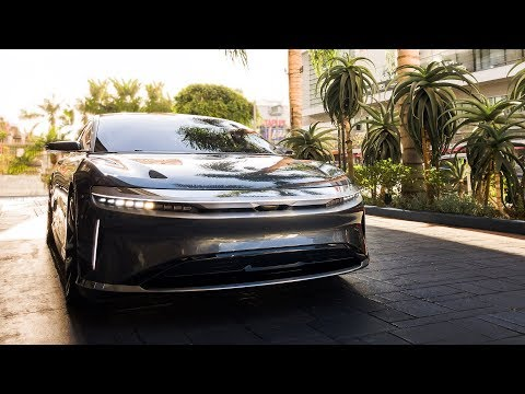 Lucid Air: Tesla's Luxury Competitor