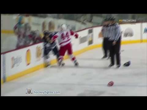 Todd Bertuzzi vs Shane O'Brien