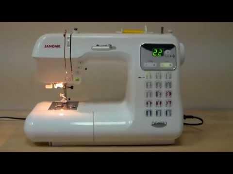 Ознайомлювальне відео про швейну машинку JANOME DC 4030