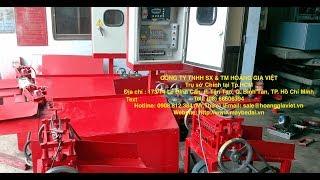 Máy bẻ đai sắt thép hình tự động- Công ty TNHH SX TM Hoàng Gia Việt