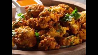 Cabbage Bhajia