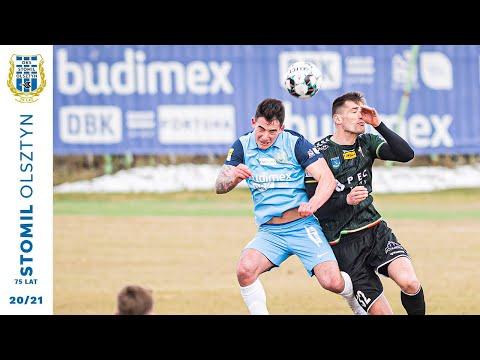 Skrót meczu Stomil Olsztyn - GKS Tychy 1:2