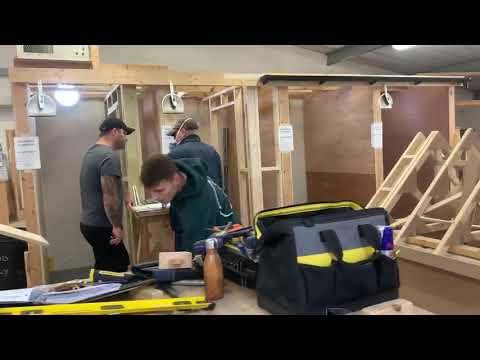 What a great week with our Carpentry Courses! - YouTube