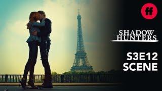 Shadowhunters Season 3, Episode 12 | Clace Kiss By The Eiffel Tower | Freeform