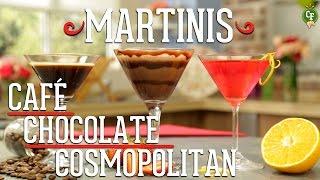 ¿Cómo Preparar Martinis De Café, Chocolate Y Cosmopolitan? - Cocina Fresca