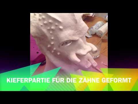 Wer machte Maske für die Person aus dem Ei
