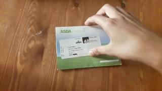 الحلقة 15: طريقة  الحصول على بطاقة Sim الاجنبية مجانا من Asda Mobile  + الاثباث ( اسرع)
