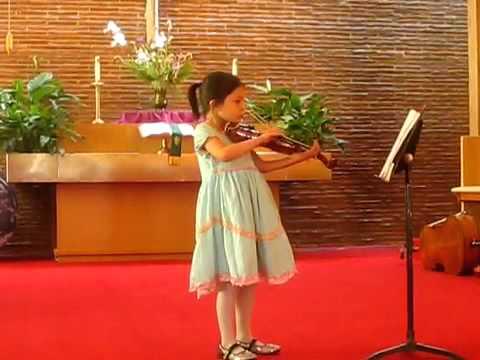 Tara violin concert 7 yo