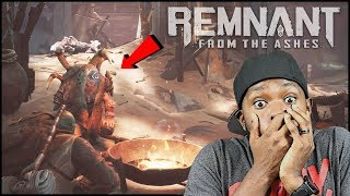 Our First Grindisode! We Found A Secret Boss Fight!  (Remnant From The Ashes Ep.7)