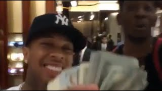 Tyga and Desiigner spending big amounts at the Gucci Store: 10 bands on Gucci!