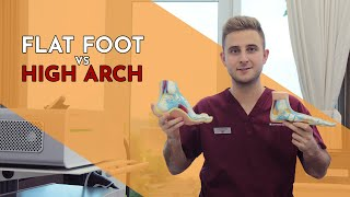 Is Having a High Arch Worse than a Flat Foot? - Lewis Nurney, Singapore Podiatrist