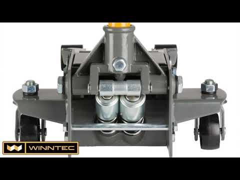 Winntec Y412500 ALU pojízdný hydraulický zvedák 2,5t, 95-487mm