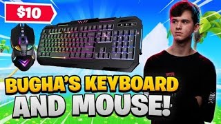 Playing Fortnite With Bugha's New $10 Keyboard And Mouse