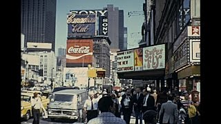 New York 1972 archive footage