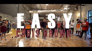 DaniLeigh   Easy (Remix) Ft. Chris Brown | Choreography By Anand Singh