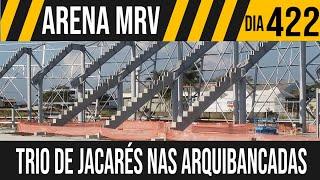 ARENA MRV | 7/10 TRIO DE JACARÉS NAS ARQUIBANCADAS | 16/06/2021