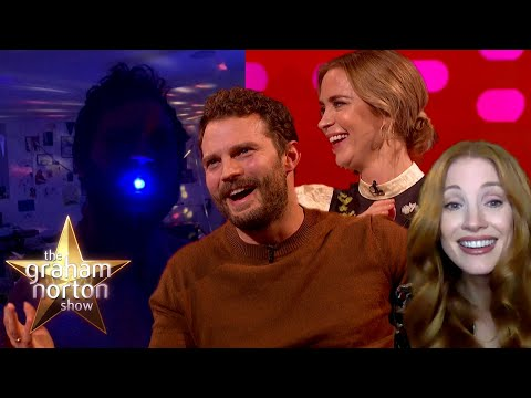 Jamie Dornan o narozeninách dcery a trapasu z dětství - The Graham Norton Show