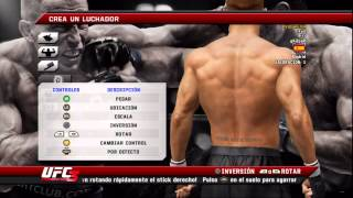 UFC 3 Undisputed. MODO CARRERA #1. Creando al personaje