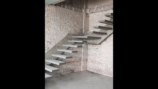 Floating Staircase Design | Types Of Staircase