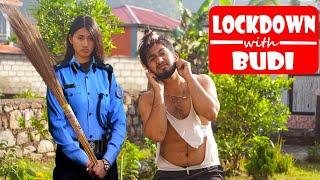 LOCKDOWN WITH BUDI|Buda vs Budi|Nepali Comedy Short Film| SNS Entertainment|April 2020