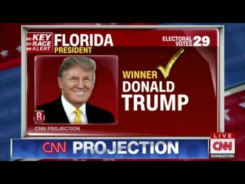 2016 Presidential Election Results-State Wins-Every Important State