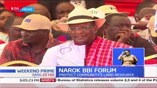 Narok BBI Forum : MAA leaders submit region demands, Maasai culture should be conserved