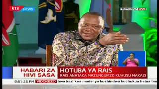 President Uhuru Kenyatta on building bridges initiative