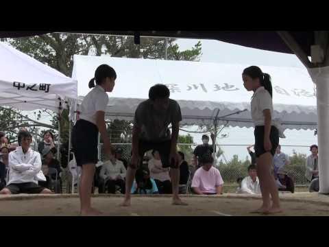 種子島の学校活動:第84回仲良し相撲大会(住吉小学校・星原小学校)前半ダイジェスト