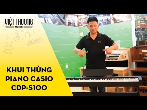 Khui thùng piano điện Casio CDP-S100