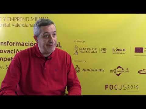 Jose Antonio De Miguel, CEO de YoEmprendo en Focus Pyme CV 2019[;;;][;;;]