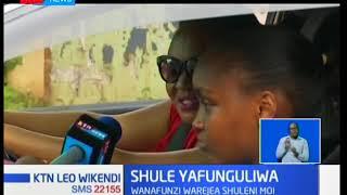 Wanafunzi wa shule ya upili ya Moi Girls warejea shuleni