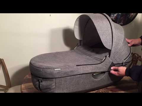 How to Remove the Textiles from a Stokke Trailz / Crusi Carrycot
