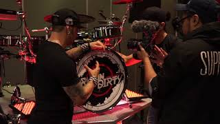 DRUMNDIRTY LIVE FOOTAGE @ ROLANDS VDRUMS BREAK OUT EVENT