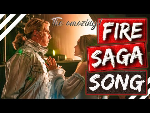 FIRE SAGA SONG!! HUSAVIK - AUDIO ENHANCED! (( SURROUND SOUND ))
