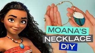 Moana Seashell Necklace DIY | Disney Style
