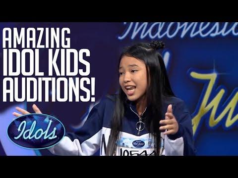 MOST POPULAR Indonesian Idol Junior Auditions! | Idols ...
