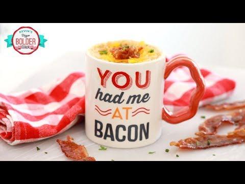 Maple Bacon Cheddar Mug Muffin – Bigger Bolder BACON