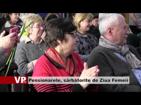 Pensionarele, sărbătorite de Ziua Femeii