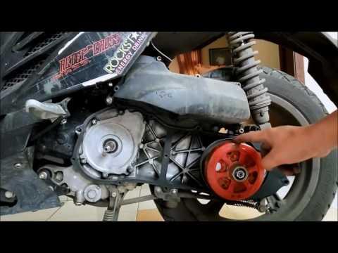 Video DIY : TUTORIAL BONGKAR CVT FOR X-RIDE N MATIC YAMAHA SERIES